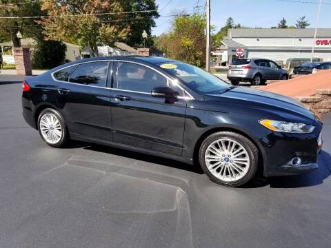 2016 Ford Fusion for sale at R C Motors in Lunenburg MA