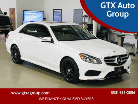 2015 Mercedes-Benz E-Class for sale at GTX Auto Group in West Chester OH
