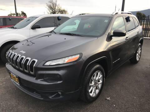 2014 Jeep Cherokee for sale at Soledad Auto Sales in Soledad CA