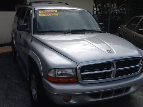 2002 Dodge Durango for sale at Easy Credit Auto Sales in Cocoa FL