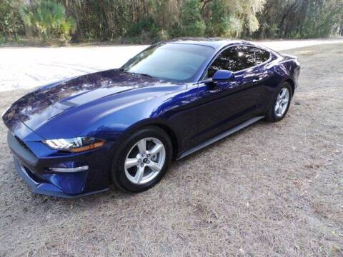 2019 Ford Mustang for sale at TIMBERLAND FORD in Perry FL