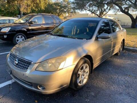2005 Nissan Altima for sale at Florida Prestige Collection in St Petersburg FL