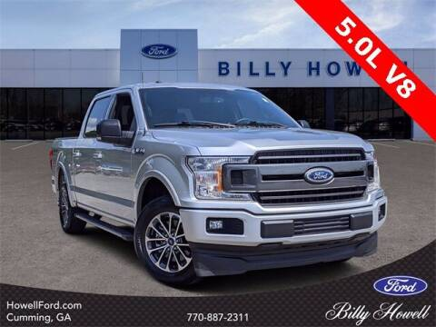 2018 Ford F-150 for sale at BILLY HOWELL FORD LINCOLN in Cumming GA