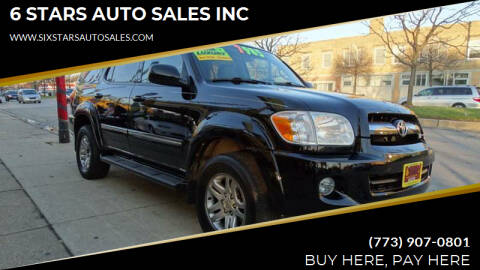 2005 Toyota Sequoia for sale at 6 STARS AUTO SALES INC in Chicago IL