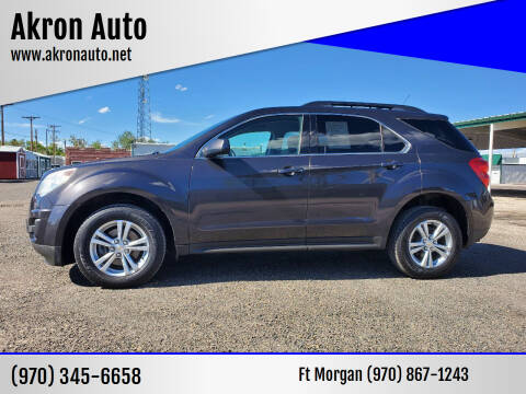 2013 Chevrolet Equinox for sale at Akron Auto in Akron CO