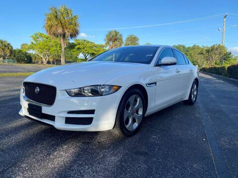 2017 Jaguar XE for sale at Lamberti Auto Collection in Plantation FL
