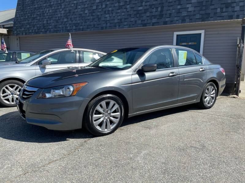 2011 Honda Accord for sale at JK & Sons Auto Sales in Westport MA