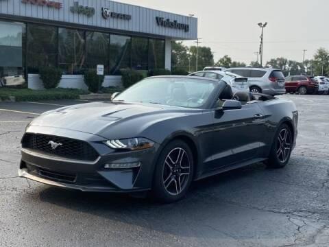 2020 Ford Mustang for sale at Vicksburg Chrysler Dodge Jeep Ram in Vicksburg MI
