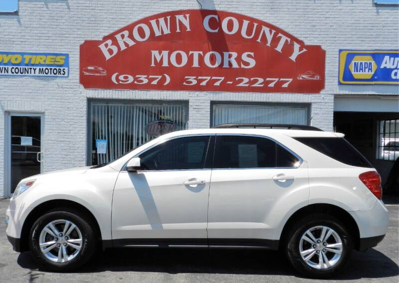 2014 Chevrolet Equinox for sale at Brown County Motors in Russellville OH
