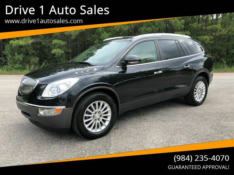 2012 Buick Enclave for sale at Drive 1 Auto Sales in Wake Forest NC