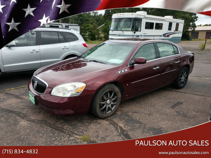 2006 Buick Lucerne for sale at Paulson Auto Sales in Chippewa Falls WI