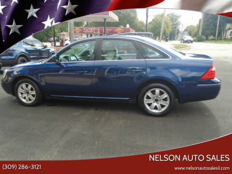 2007 Ford Five Hundred for sale at Nelson Auto Sales in Toulon IL