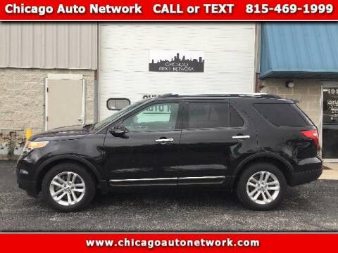 2015 Ford Explorer for sale at Chicago Auto Network in Mokena IL
