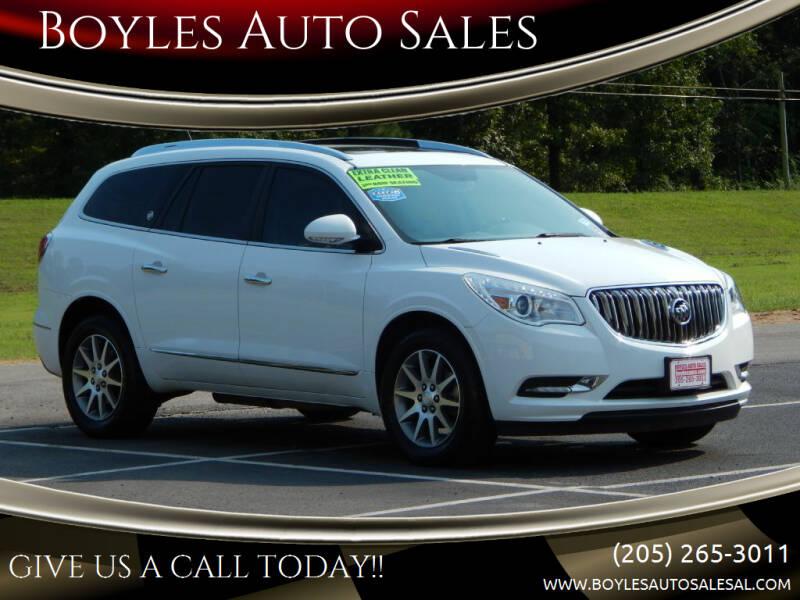 2016 Buick Enclave for sale at Boyles Auto Sales in Jasper AL