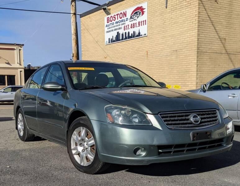 2005 Nissan Altima for sale at Boston Auto World in Quincy MA