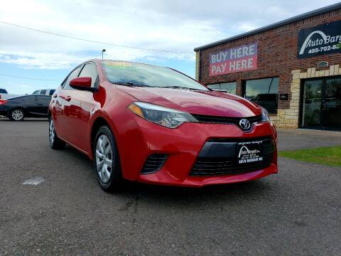 2015 Toyota Corolla for sale at AUTO BARGAIN, INC. #2 in Oklahoma City OK