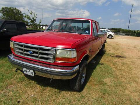 1992 Ford F-250 for sale at Hill Top Sales in Brenham TX
