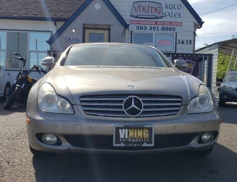 2006 Mercedes-Benz CLS for sale at VIking Auto Sales LLC in Salem OR