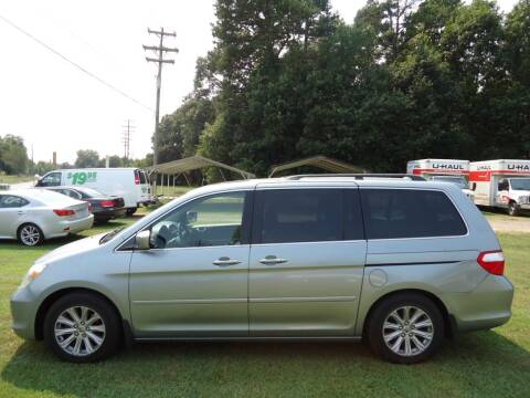 2007 Honda Odyssey for sale at Street Source Auto LLC in Hickory NC
