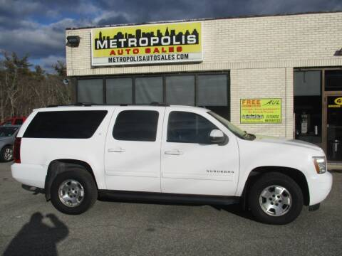 2014 Chevrolet Suburban for sale at Metropolis Auto Sales in Pelham NH