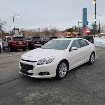 2014 Chevrolet Malibu for sale at Bibian Brothers Auto Sales & Service in Joliet IL