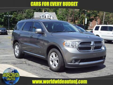 2012 Dodge Durango for sale at Worldwide Auto in Hamilton NJ