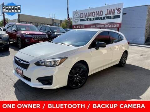 2018 Subaru Impreza for sale at Diamond Jim's West Allis in West Allis WI