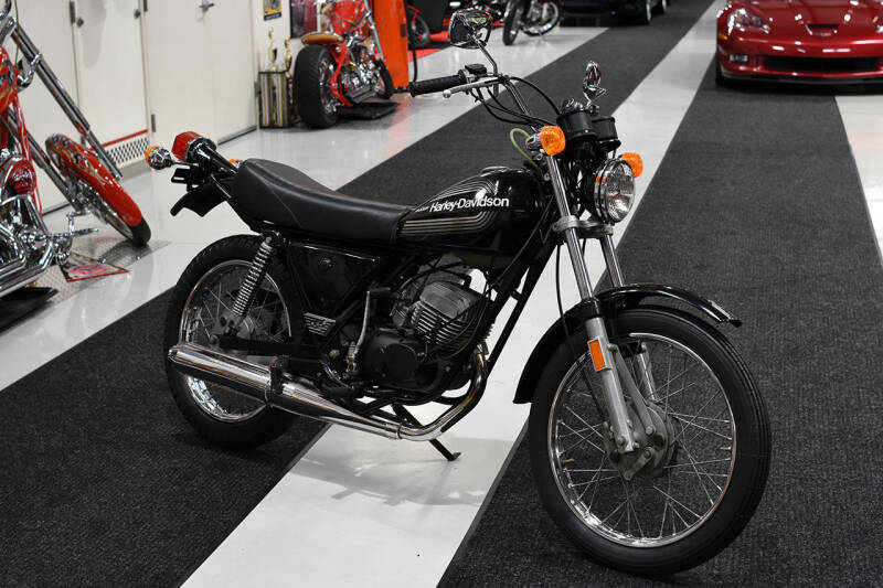 1976 Harley-Davidson SS 125 CC for sale at Crystal Motorsports in Homosassa FL