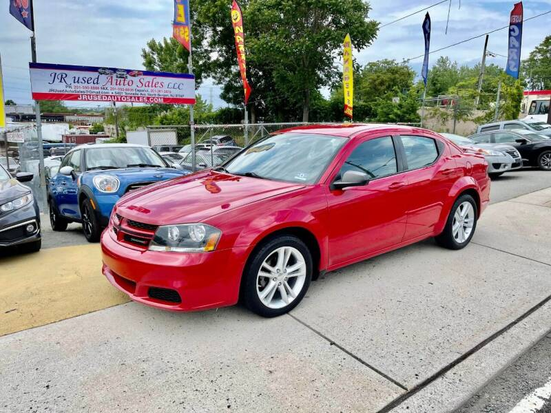 2014 Dodge Avenger for sale at JR Used Auto Sales in North Bergen NJ