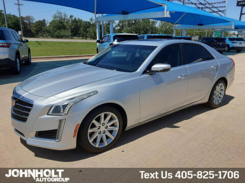 2016 Cadillac CTS for sale at JOHN HOLT AUTO GROUP, INC. in Chickasha OK