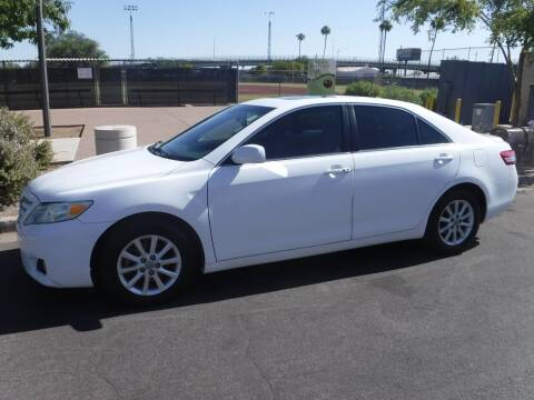 2011 Toyota Camry for sale at J & E Auto Sales in Phoenix AZ