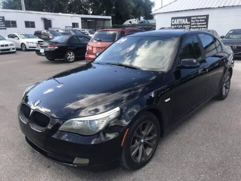2009 BMW 5 Series for sale at Cartina in Tampa FL
