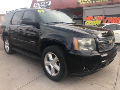2007 Chevrolet Tahoe for sale at Sunday Car Company LLC in Phoenix AZ