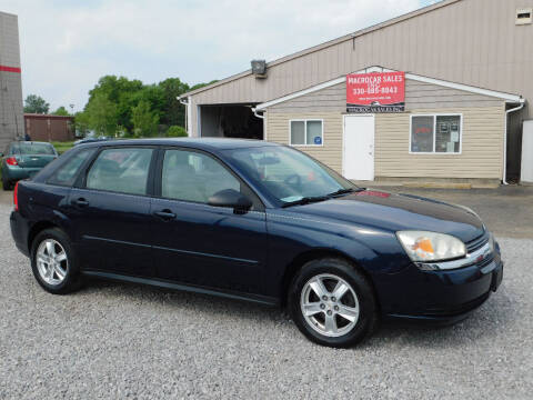 2005 Chevrolet Malibu Maxx for sale at Macrocar Sales Inc in Akron OH