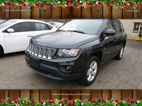 2014 Jeep Compass for sale at Capital Motors Credit, Inc. in Chicago IL