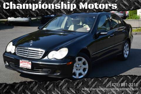 2005 Mercedes-Benz C-Class for sale at Mudarri Motorsports - Championship Motors in Redmond WA