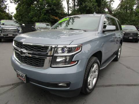 2016 Chevrolet Tahoe for sale at LULAY'S CAR CONNECTION in Salem OR