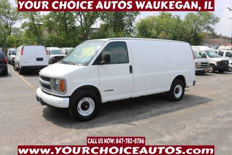2001 Chevrolet Express Cargo for sale at Your Choice Autos - Waukegan in Waukegan IL