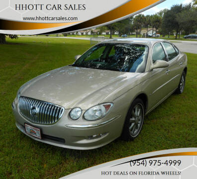 2009 Buick LaCrosse for sale at HHOTT CAR SALES in Deerfield Beach FL