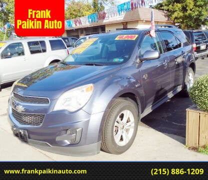 2013 Chevrolet Equinox for sale at Frank Paikin Auto in Glenside PA