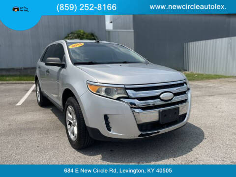 2013 Ford Edge for sale at New Circle Auto Sales LLC in Lexington KY