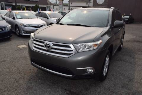 2011 Toyota Highlander for sale at VNC Inc in Paterson NJ