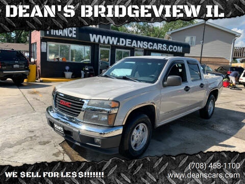 2004 GMC Canyon for sale at DEANSCARS.COM in Bridgeview IL