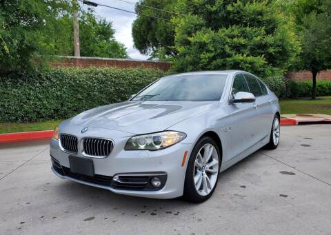 2016 BMW 5 Series for sale at International Auto Sales in Garland TX