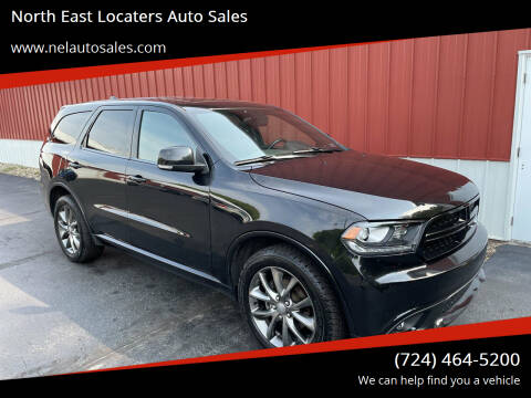 2015 Dodge Durango for sale at North East Locaters Auto Sales in Indiana PA