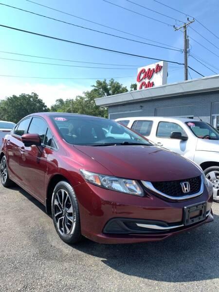2015 Honda Civic for sale at City to City Auto Sales in Richmond VA