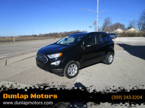 2018 Ford EcoSport for sale at Dunlap Motors in Dunlap IL