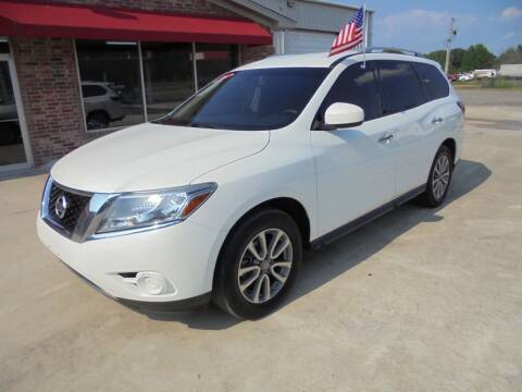 2016 Nissan Pathfinder for sale at US PAWN AND LOAN in Austin AR