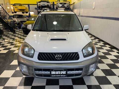 2003 Toyota RAV4 for sale at Euro Auto Sport in Chantilly VA