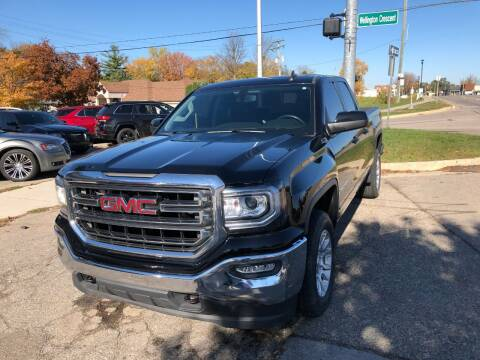 2016 GMC Sierra 1500 for sale at One Price Auto in Mount Clemens MI